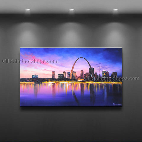 Astonishing Contemporary Wall Art Landscape Cityscape Artist Artworks