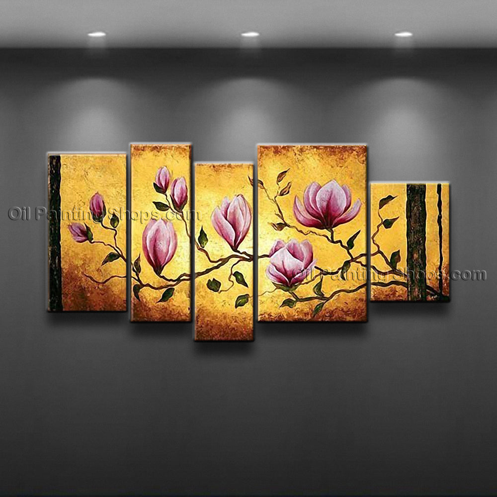 Hand-painted Large Contemporary Wall Art Floral Painting Flower Paintings