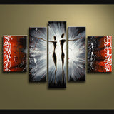 Handmade Large Modern Abstract Painting Wall Art Figure Decoration Ideas