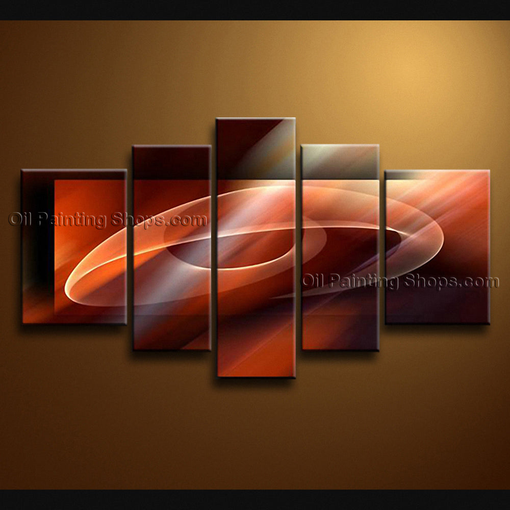 Hand-painted Large Modern Abstract Painting Wall Art Ready To Hang