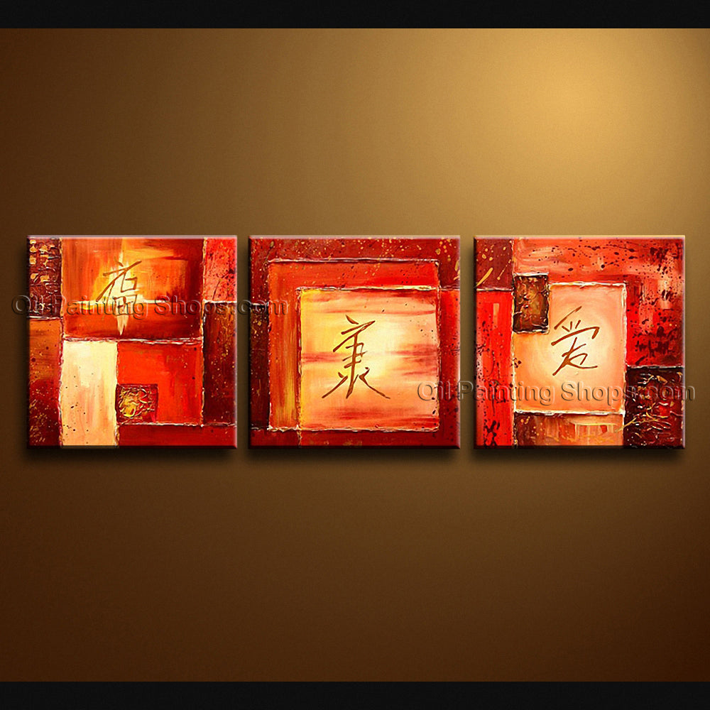 Hand Painted Elegant Modern Abstract Painting Wall Art Gallery Wrapped