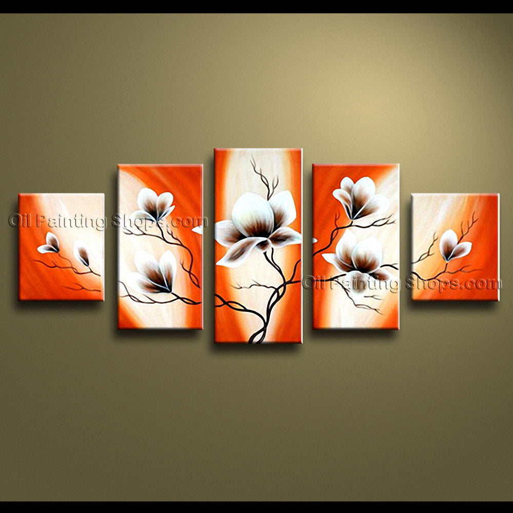 Hand-painted Large Modern Abstract Painting Wall Art Inner Stretched