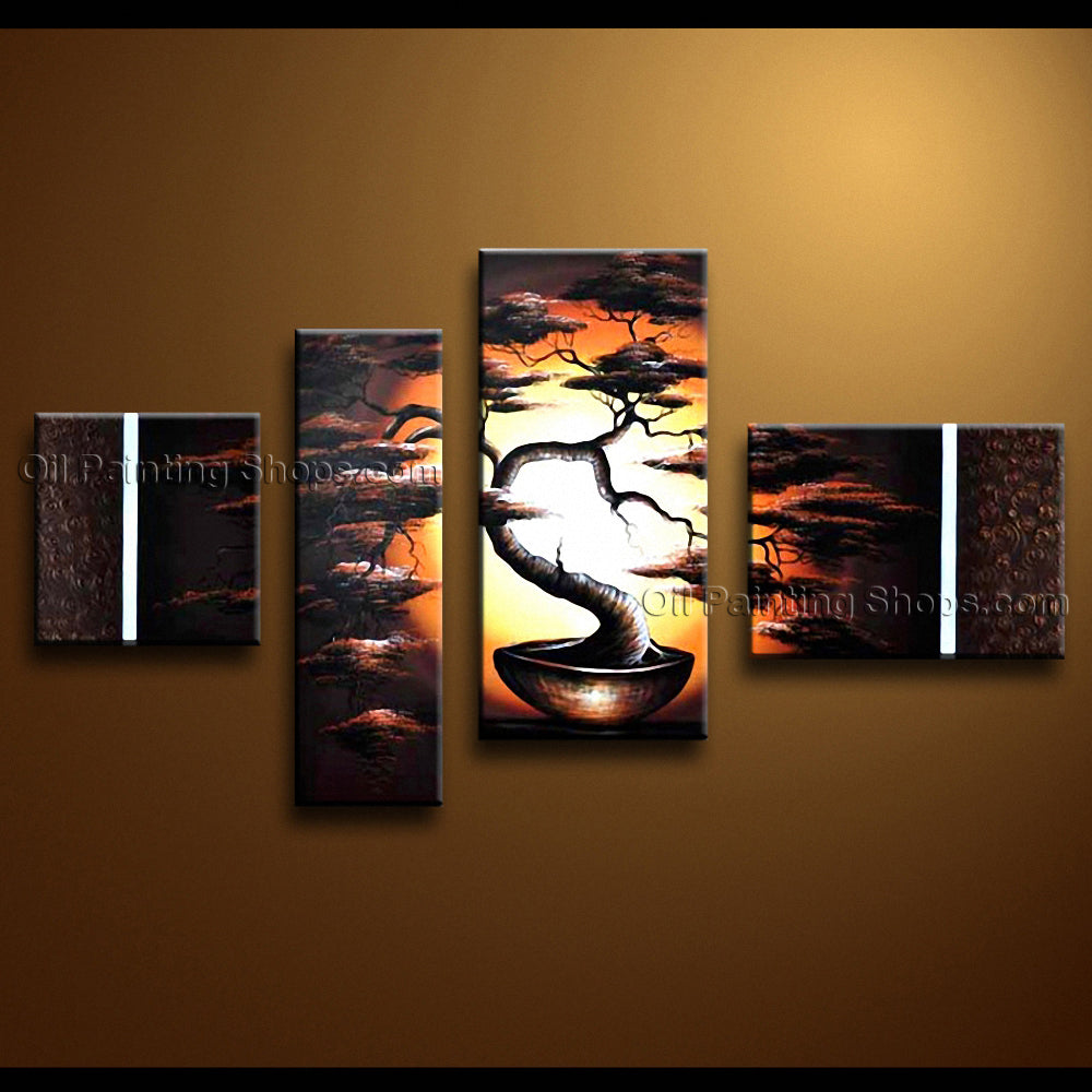 Handmade Large Contemporary Wall Art Landscape Painting Contemporary Decor