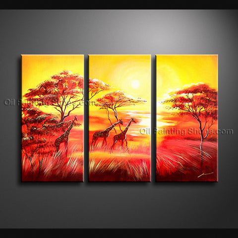 Beautiful Contemporary Wall Art Landscape Painting Decoration Ideas