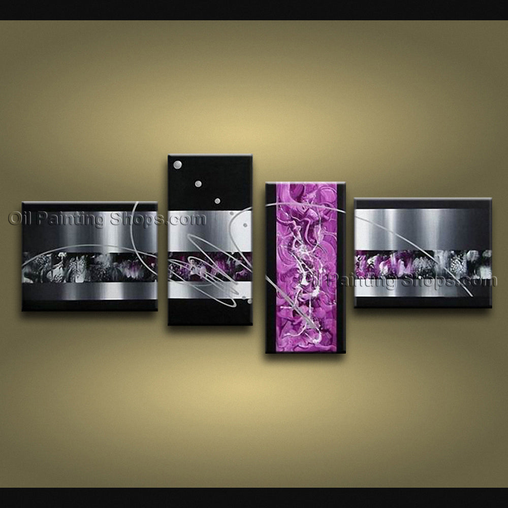 Handmade Artcrafts Large Modern Abstract Painting Wall Art Interior Design