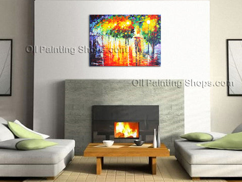 Astonishing Contemporary Wall Art Landscape Park On Canvas Artworks