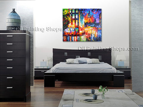 Beautiful Contemporary Wall Art Landscape Painting Park Artist Artworks