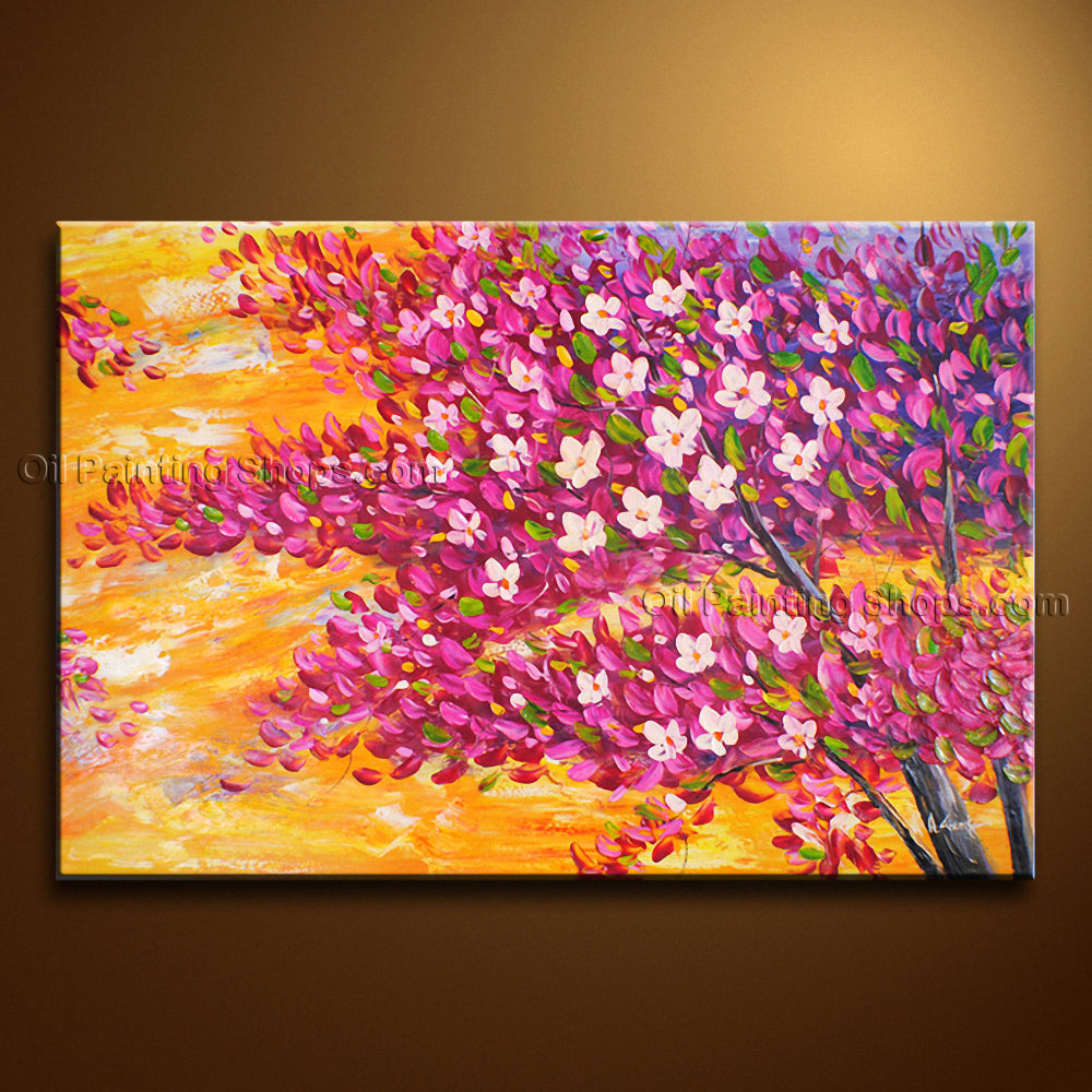 Amazing Contemporary Wall Art Landscape Painting Tree Artist Artworks