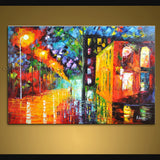 Handmade Elegant Contemporary Wall Art Landscape Painting Decoration Ideas