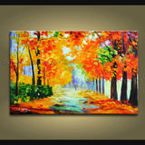 Astonishing Contemporary Wall Art Landscape Painting Artwork Images