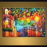 Handmade Amazing Contemporary Wall Art Landscape Painting Artwork Pictures