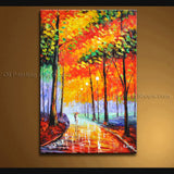 Stunning Contemporary Wall Art Landscape Painting On Canvas Artworks