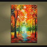 Handmade Amazing Contemporary Wall Art Landscape Painting Artist Artworks