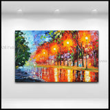 Beautiful Contemporary Wall Art Landscape Painting Contemporary Decor