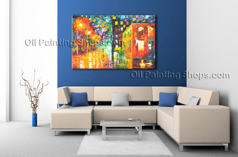 Beautiful Contemporary Wall Art Landscape Painting On Canvas Artworks