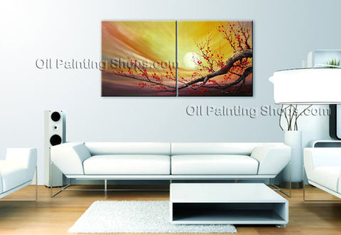 Astonishing Contemporary Wall Art Floral Cherry Blossom Artist Artworks