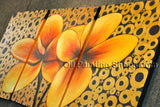 Elegant Contemporary Wall Art Floral Painting Egg Decoration Ideas