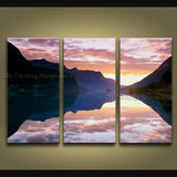 Beautiful Contemporary Wall Art Seascape Painting Beach Inner Framed