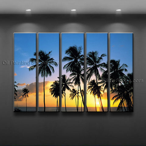 Large Contemporary Wall Art Seascape Painting Hawaii Beach Ocean Paintings