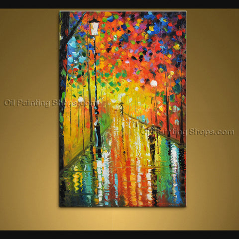 Handmade Stunning Contemporary Wall Art Landscape Painting Artwork Images