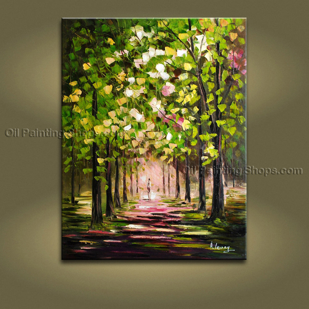 Handmade Stunning Contemporary Wall Art Landscape Painting Artist Artworks