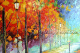 Handmade Elegant Contemporary Wall Art Landscape Painting Oil On Canvas