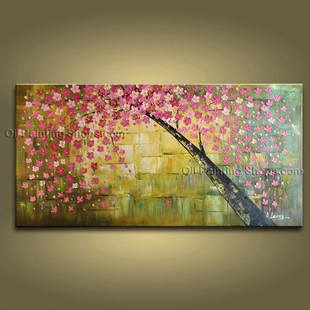 Amazing Contemporary Wall Art Landscape Painting Tree Landscape Scene