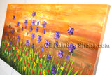 Handmade Elegant Contemporary Wall Art Floral Painting Flower Paintings
