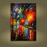 Astonishing Contemporary Wall Art Landscape Painting On Canvas Artworks