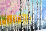 Astonishing Contemporary Wall Art Landscape Painting Tree Landscape Scene