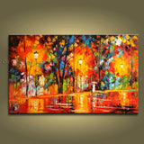 Astonishing Contemporary Wall Art Landscape Painting Artwork Pictures
