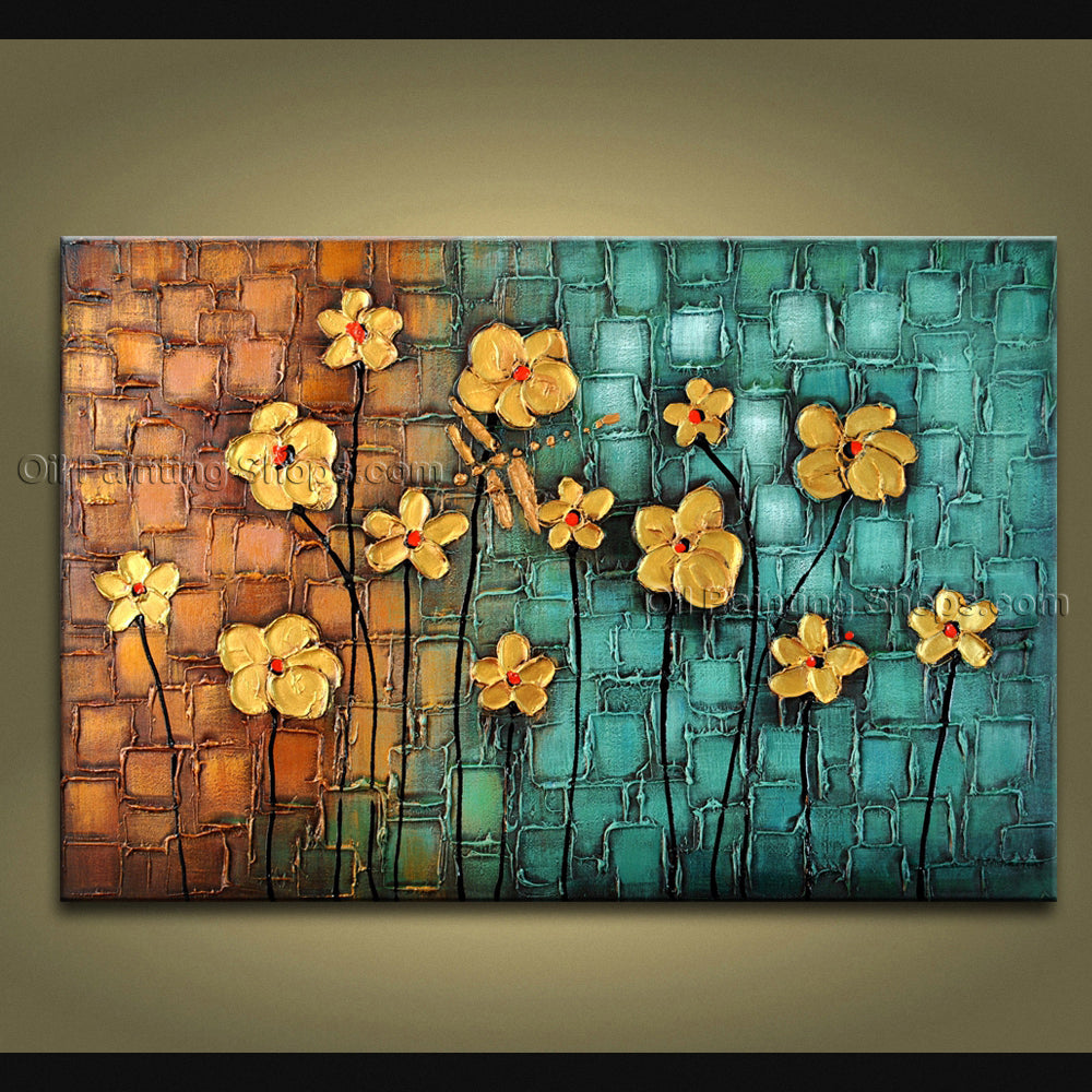 Amazing Contemporary Wall Art Floral Dragon Fly Flower Gallery Wrapped