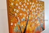 Amazing Contemporary Wall Art Landscape Painting Tree Tree Paintings