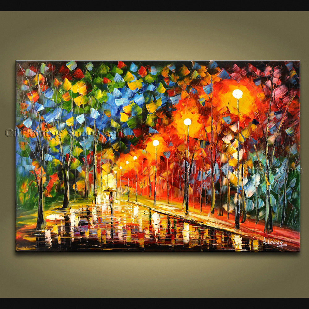 Beautiful Contemporary Wall Art Landscape Painting Artist Artworks