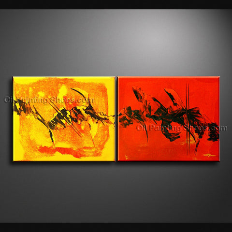 Hand Painted Stunning Modern Abstract Painting Wall Art Artist Artworks