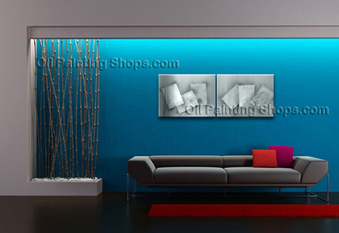 Hand-painted Stunning Modern Abstract Painting Wall Art Interior Design