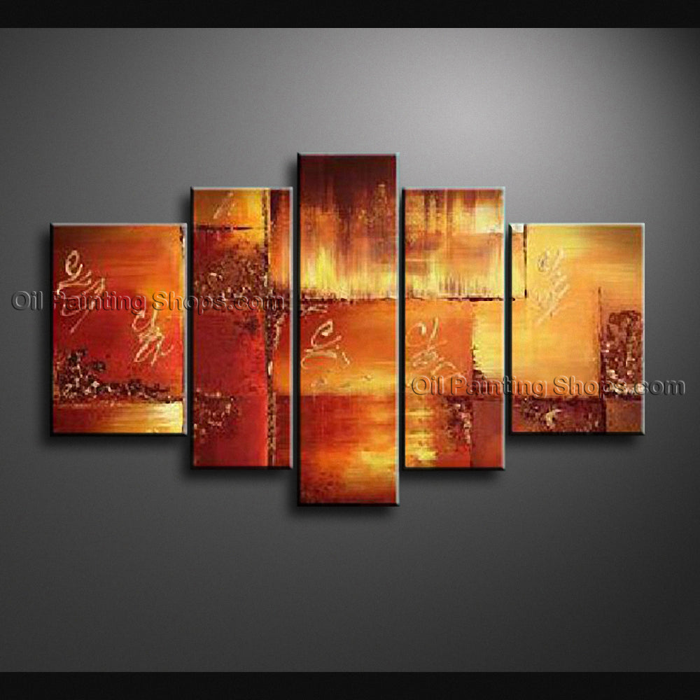 Hand Painted Large Modern Abstract Painting Wall Art Artist Artworks