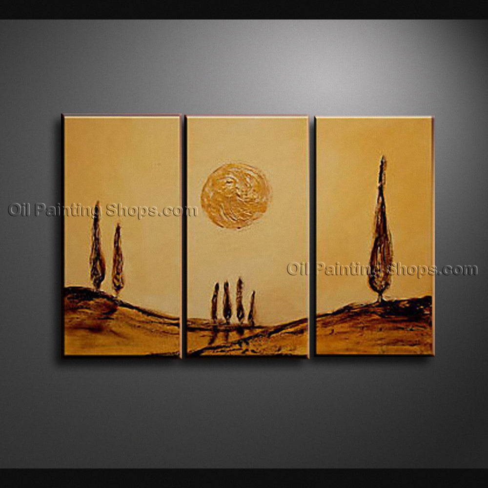 Hand Painted Elegant Modern Abstract Painting Wall Art Inner Framed