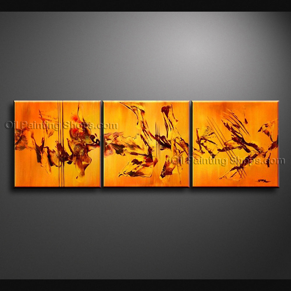 Hand Painted Stunning Modern Abstract Painting Wall Art Ready To Hang