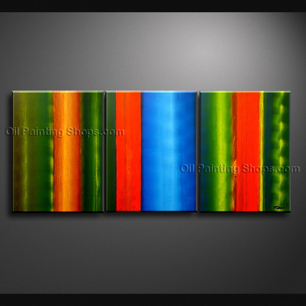 Hand Painted Beautiful Modern Abstract Painting Wall Art Inner Framed