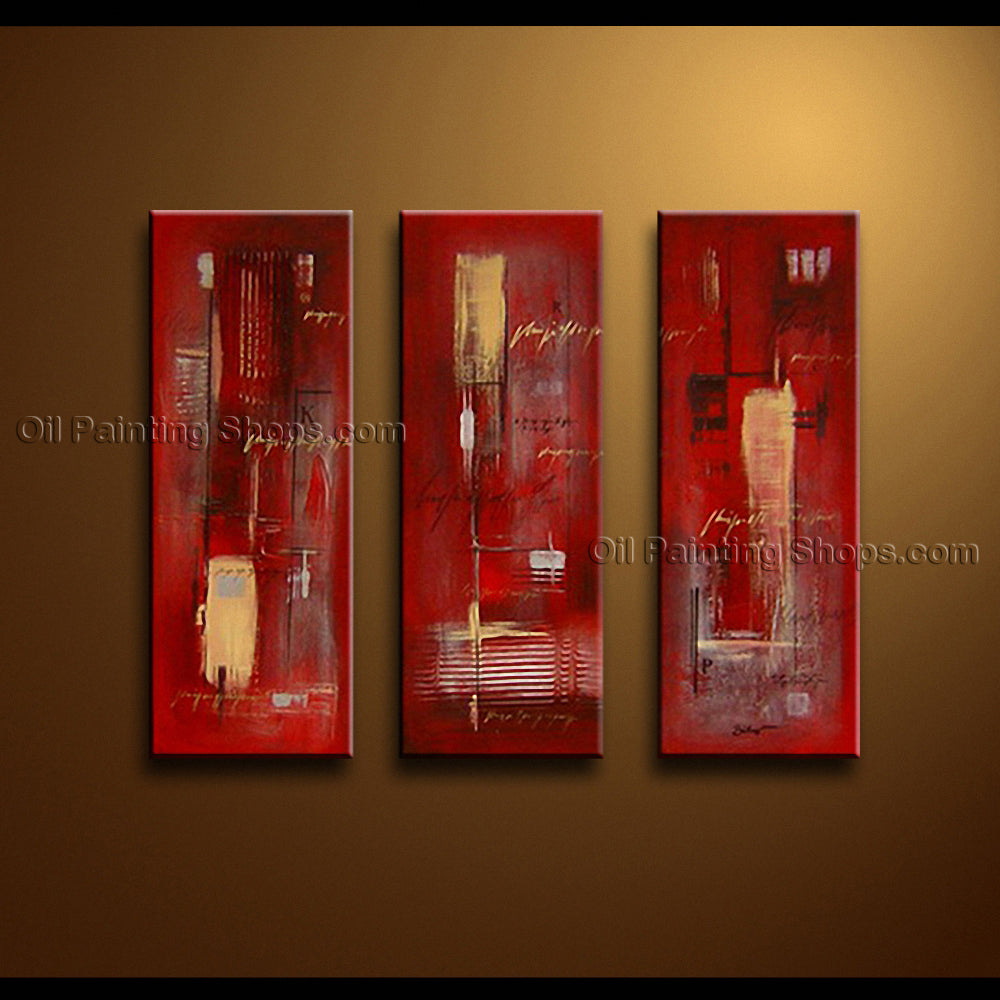 Handmade Artcrafts Elegant Modern Abstract Painting Wall Art Oil On Canvas