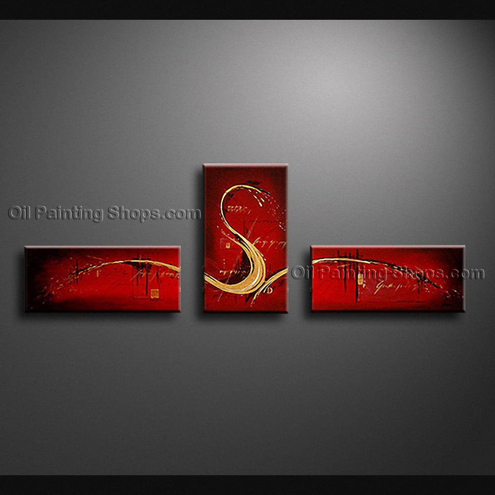 Hand-painted Beautiful Modern Abstract Painting Wall Art Gallery Wrapped