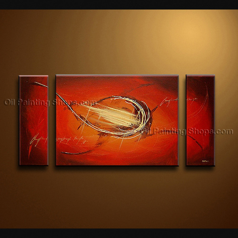 Hand-painted Beautiful Modern Abstract Painting Wall Art Inner Framed