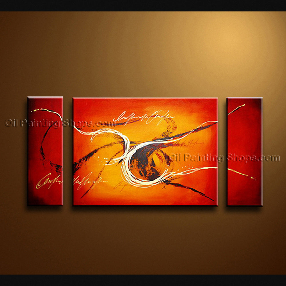 Hand Painted Elegant Modern Abstract Painting Wall Art Oil On Canvas