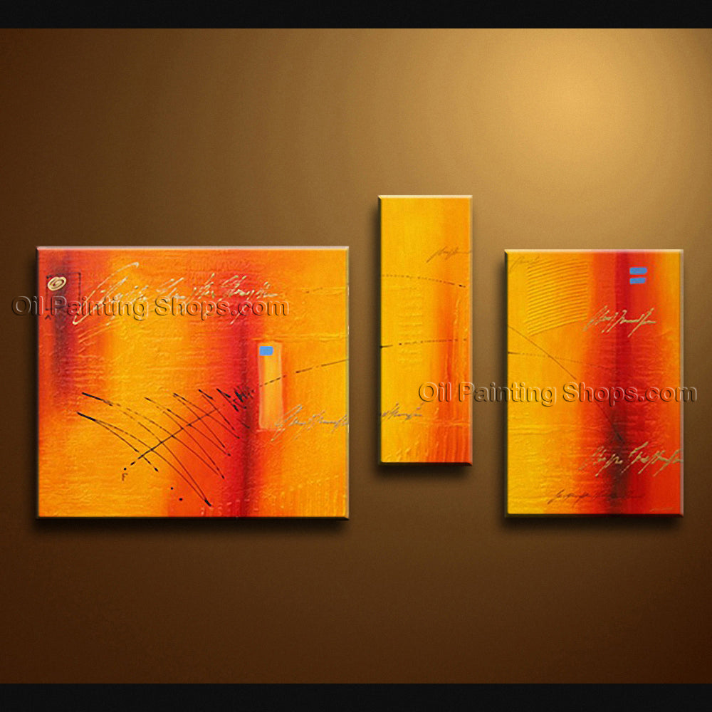 Hand-painted Elegant Modern Abstract Painting Wall Art On Canvas Artworks