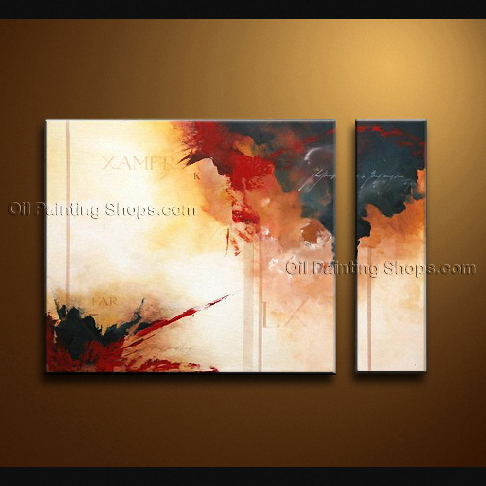 Hand Painted Elegant Modern Abstract Painting Wall Art Contemporary Decor