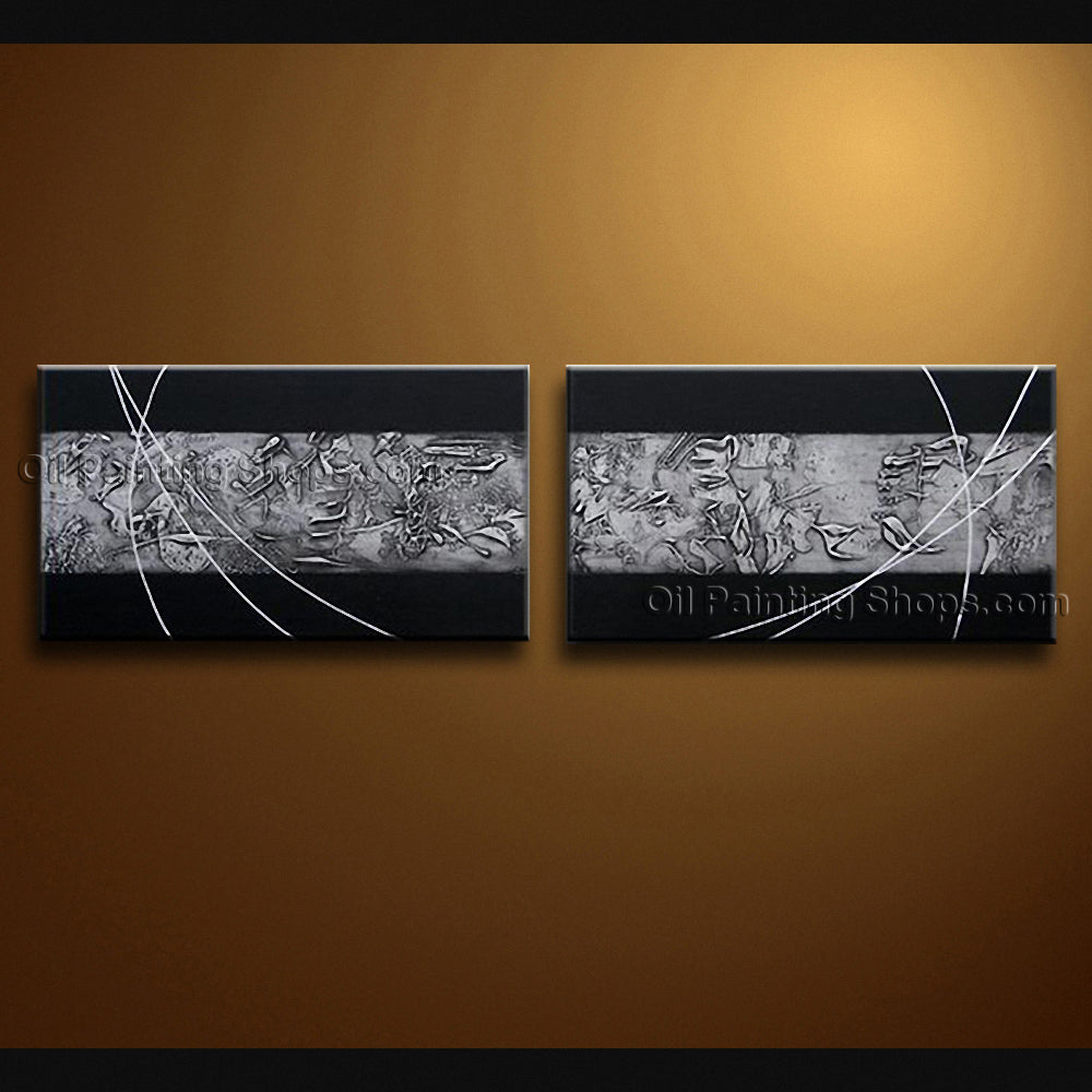 Hand Painted Stunning Modern Abstract Painting Wall Art Interior Design