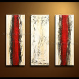 Hand Painted Elegant Modern Abstract Painting Wall Art On Canvas Artworks