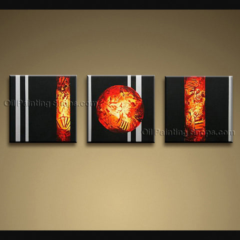 Hand Painted Stunning Modern Abstract Painting Wall Art Inner Framed