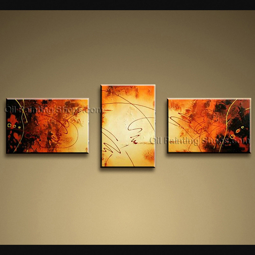 Hand Painted Beautiful Modern Abstract Painting Wall Art Interior Design